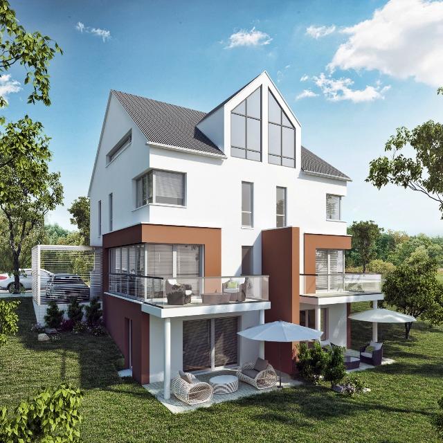 3d Visualisierung München 3d visualisierung mfh in münchen architektur und immobilien
