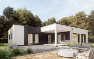 Exklusiver Bungalow Projekt SMART LIFE 113 in Österreich