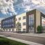 3D Rendering des neuen Verwaltungsgebäudes der Firma Jütro GmbH & Co. KG Konserven und Feinkost am Standort Jessender. In freundlicher Zusammenarbeit mit Weise Baumanagement GmbH.