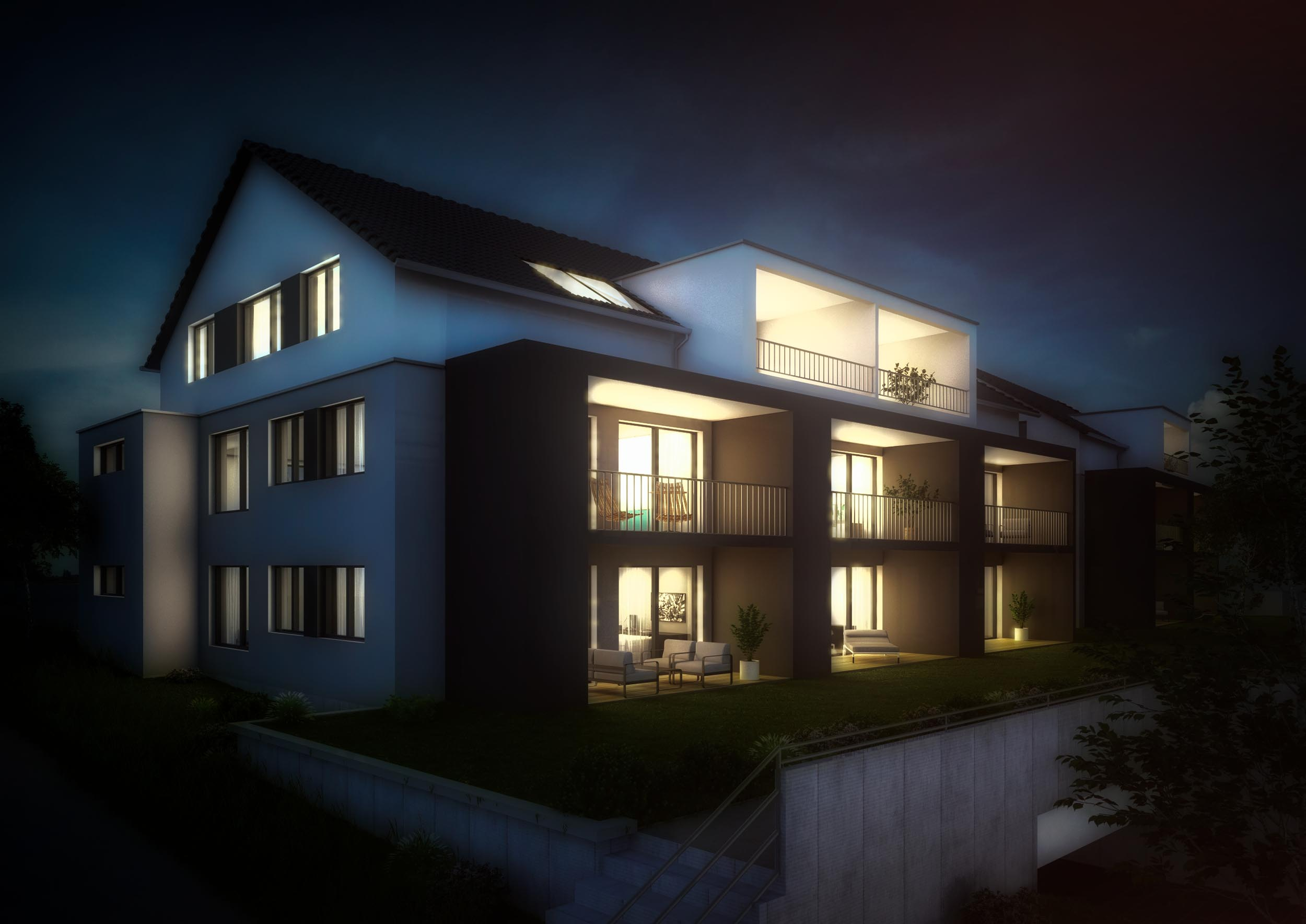 3D Rendering MFH Aulendorf