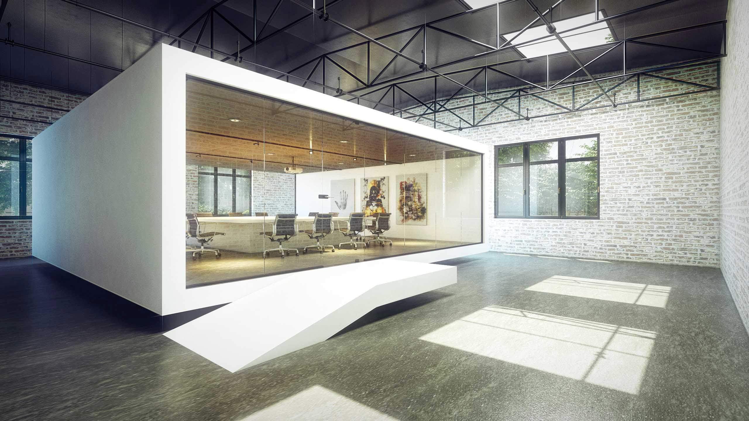 Architekturvisualisierung Messebau