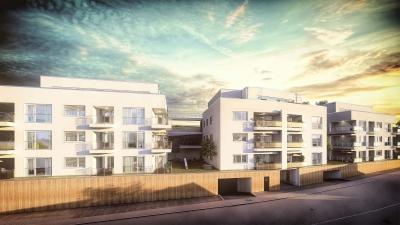 3d Visualisierung einer Wohnanlage in Ulm