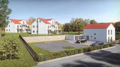 Architekturvisualisierung MFH in Menning