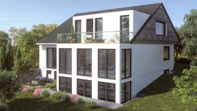 Architekturvisualisierung EFH WALDWEG Ver2