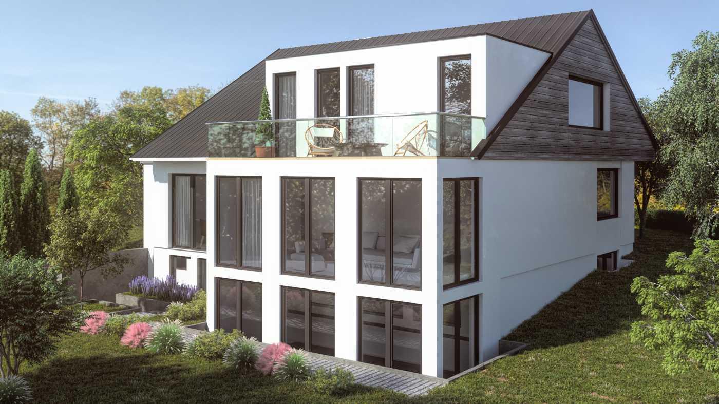 Architekturvisualisierung EFH WALDWEG