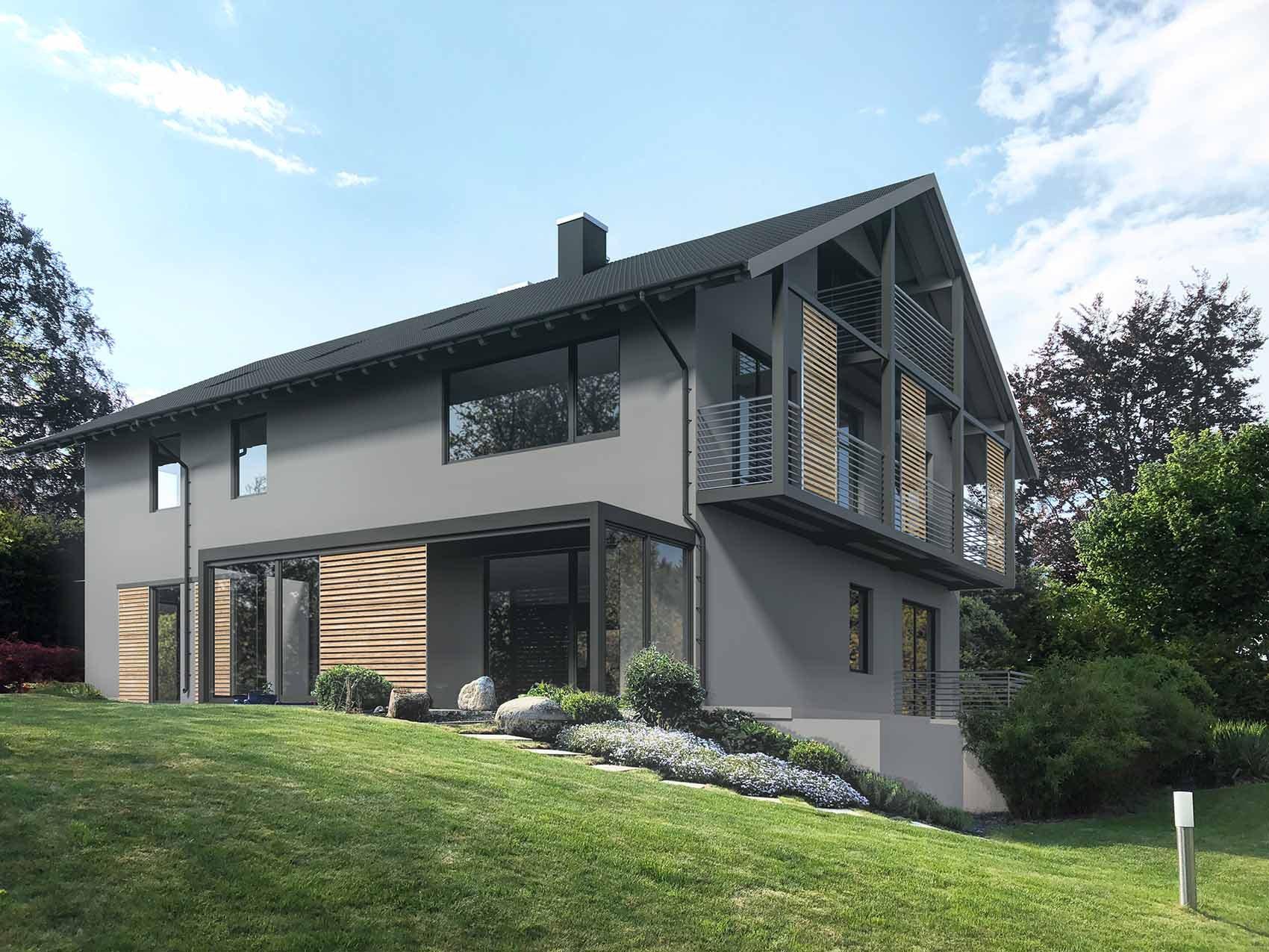 3D Rendering zur Fassadengestalltung