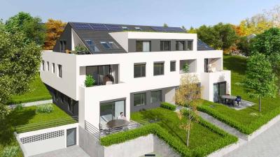 3D-Architektur Rendering MFH Sandgrubenstr