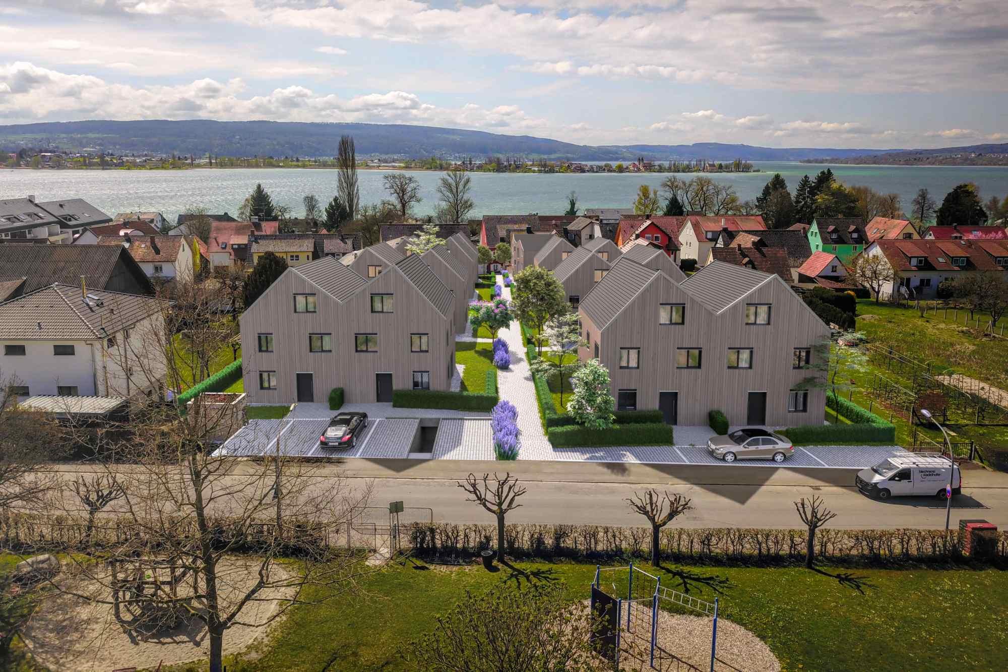 3D Rendering Fotomontage Bodensee