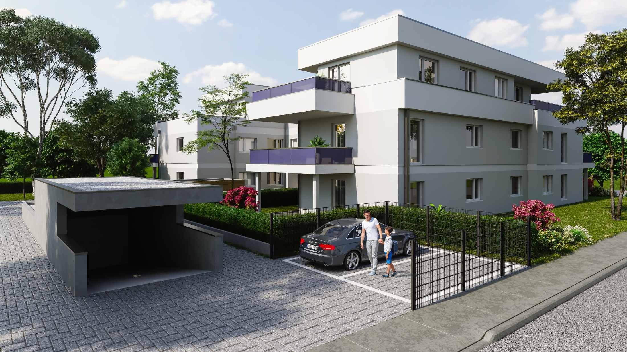 Gebäude Visualisierung in Schwabmünchen