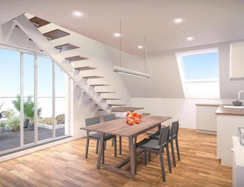 Architektur Visualisierung Wohnen