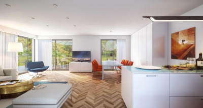 Architekturvisualisierung Wohnraum
