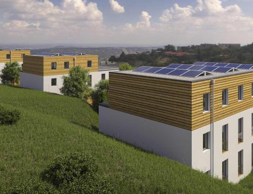 Rendering von Architektur EFH