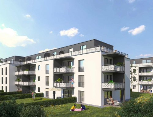 Renderings Architektur FREISINGER-STR