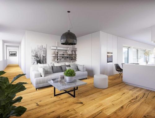 Architektur Rendering mit CGI interior V2