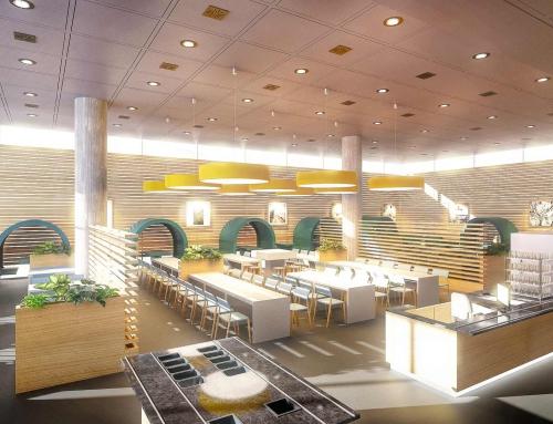 3D Rendering Casino T2 Flughafen München