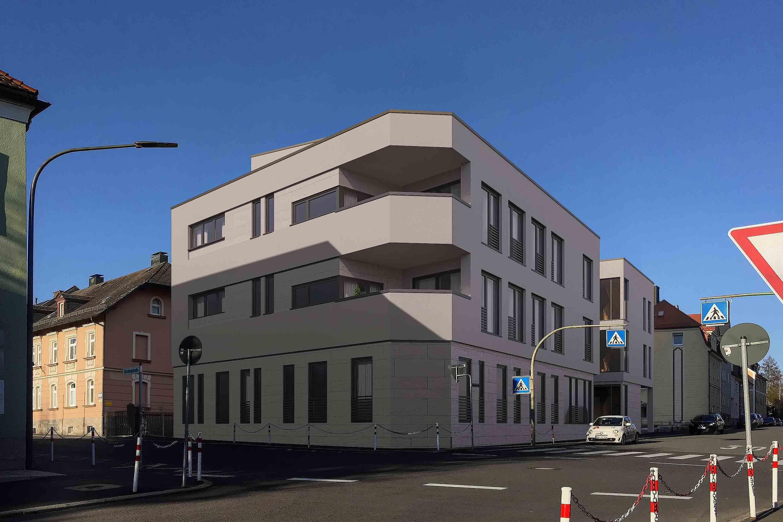 Rendering 3D Gebäude